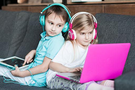 Uso de la tecnología por los niños